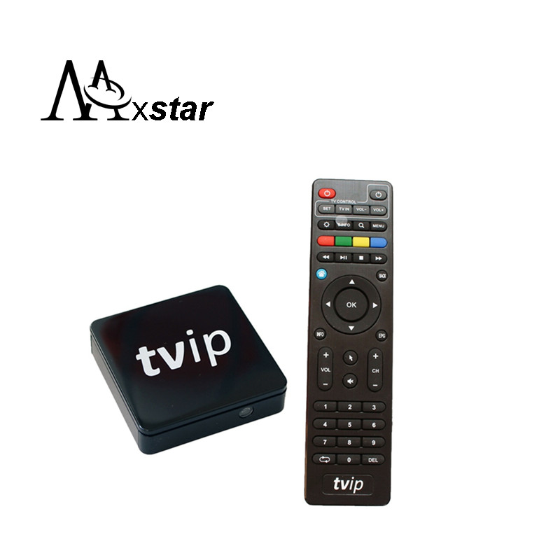 Double System Linux &amp;Android 4.4 support H.265 1920x1080  IPTV Set Top Box of TVIP Box<br><br>Aliexpress