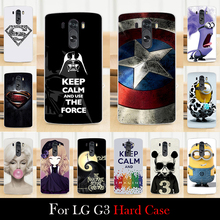 Buy LG G3 Case Hard Plastic Mobile Phone Cover Case DIY Color Paitn Cellphone Bag Shell Free for $1.28 in AliExpress store