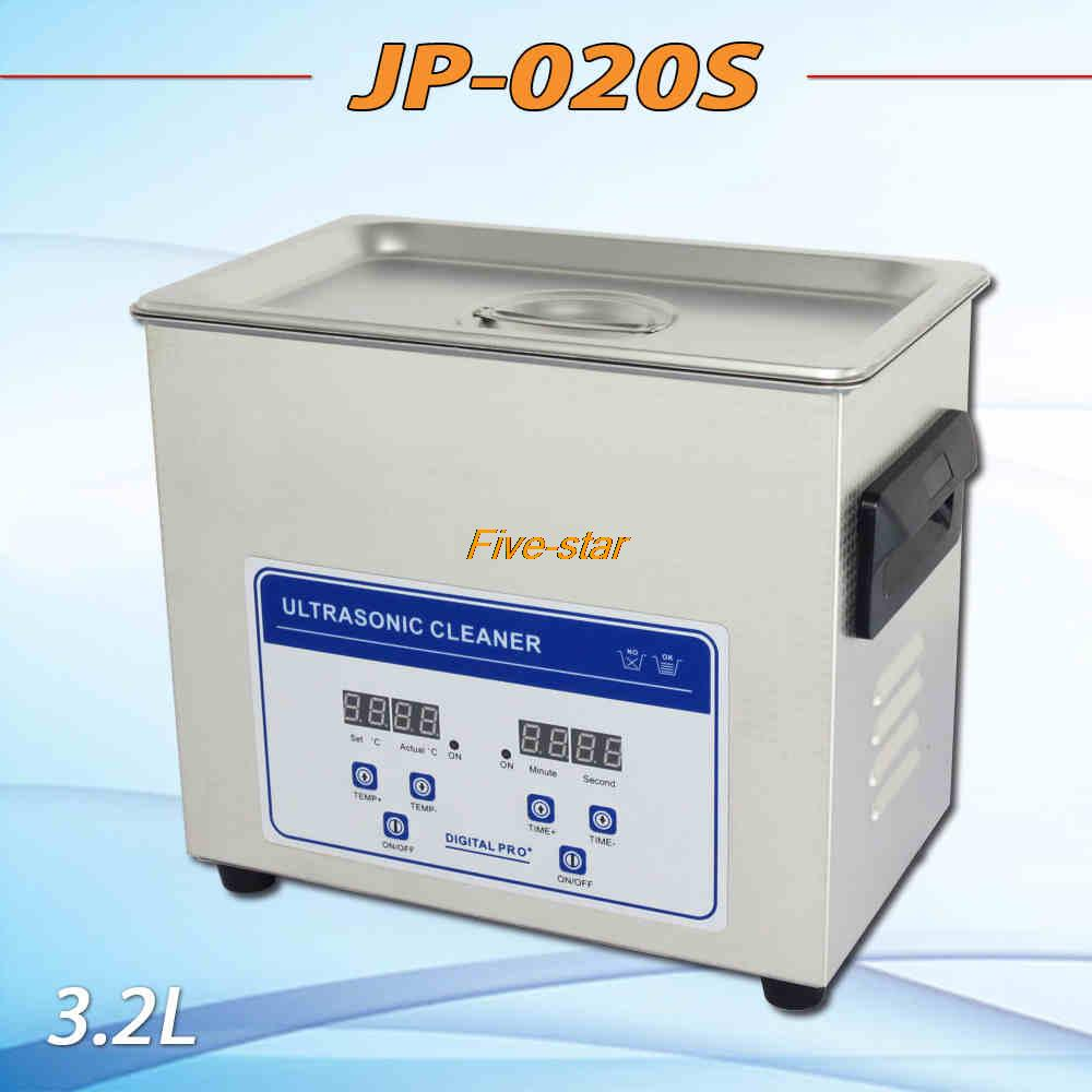 hot sell Globe digital heater&timer Ultrasonic cleaner JP-020S 3.2L bath for circuit boards, medical apparatus with free basket(China (Mainland))