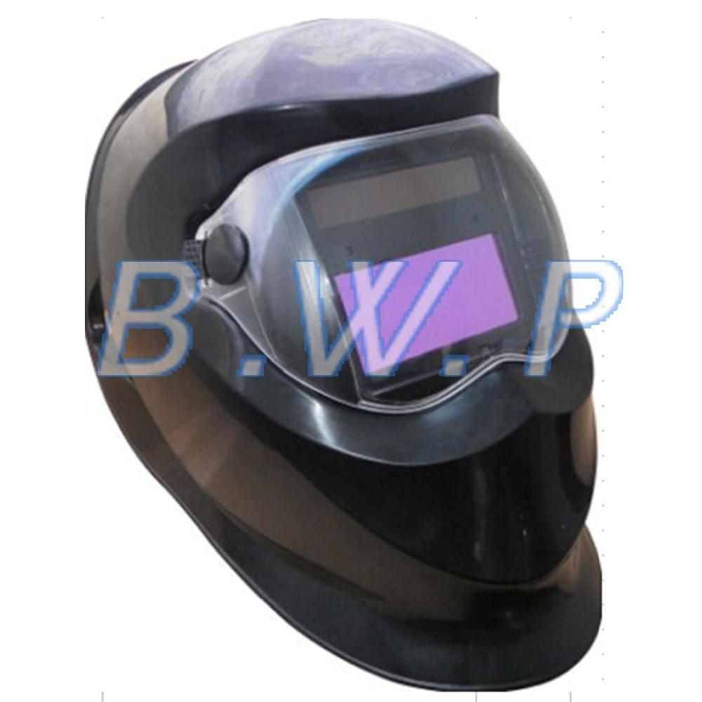 Black Solar Automatically Darkening Welding Mask Helmet Hood for TIG MIG ARC Welders(China (Mainland))