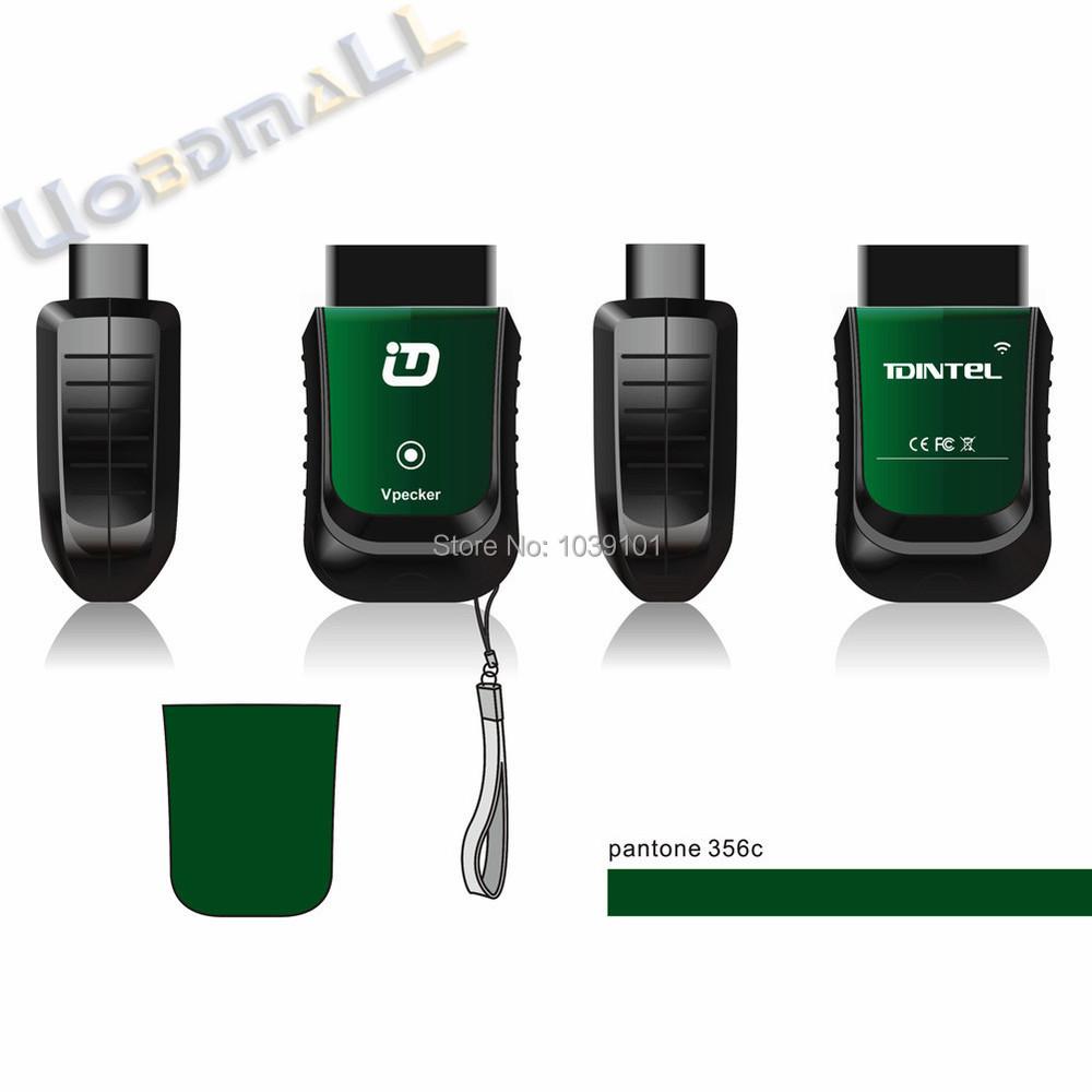 100% оригинал Vpecker EasyDiag Автоматический diag диагностический для Android лучше, чем x431 блок он-лайн доставка DHL - зеленый