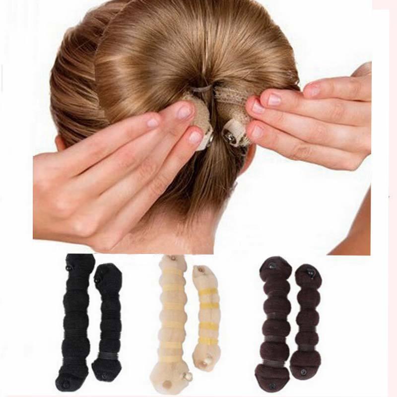 гулька из волос с твистером