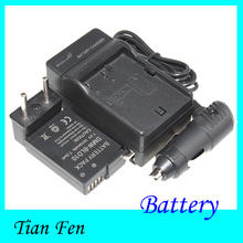 Новое 1 шт. 7.2 В 1010 мАч DMW-BLD10E DMW-BLD10 BLD10 аккумулятор и зарядное устройство для Panasonic DMC-GF2 GF2