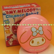 Home Life Decor Automatic Round Cleaner Dust Robot Kit Cat Melody Pink White CL001(China (Mainland))