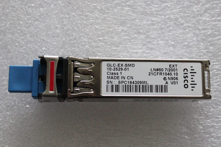 GLC-EX-SMD, Gigabit Single-Mode Module, SFP, 40KM