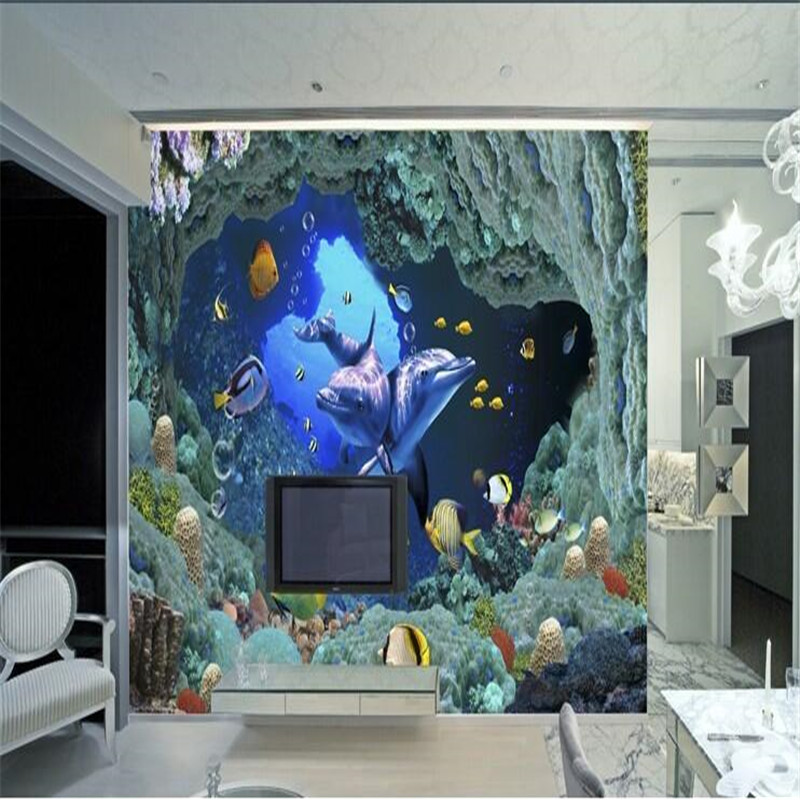 Buy custom photo wallpaper 3d for Custom mural wall covering