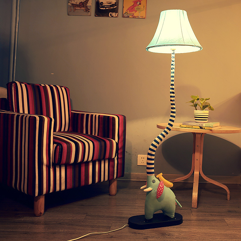 lovely floor lamp cartoon children room sitting room bedroom lamp