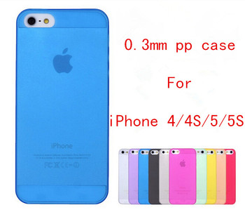 10 Colors Half Transparent Clear Back cover Ultra Thin Slim Matte frosting Shell Cover Skin protective Case For iPhone 4 4S