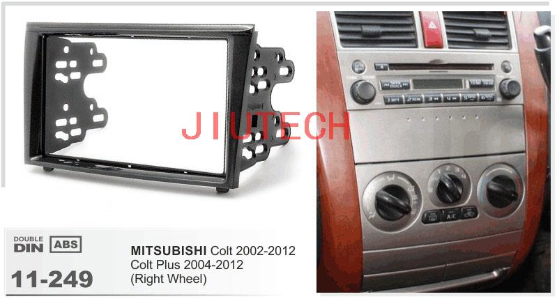 11-249 MITSUBISHI Grandis Car DVD Car Radio fascia for MITSUBISHI Grandis 2003-2011 For MITSUBISHI Colt 2002-2012(China (Mainland))