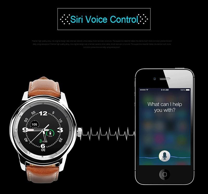 Bluetooth Смарт Смотреть Full HD IPS Экран Водонепроницаемый SmartWatch Переносной Устройства Фитнес-Трекер Для IOS Android смартфон