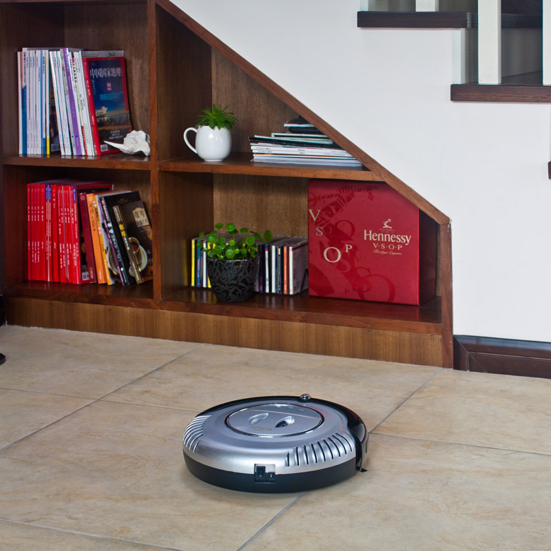 intelligent robot vacuum cleaner with auto-recharge