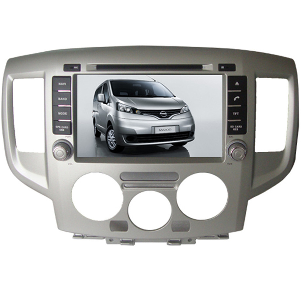 Free Shipping 2016 Top Wince Car Multimedia DVD Player Radio For Nissan NV200 2009- With GPS Navigation Bluetooth Free Map(China (Mainland))