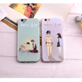 New Fashion Cute Romantic Cartoon Korean Drama The Descendants Of The Sun Phone Cases For iPhone