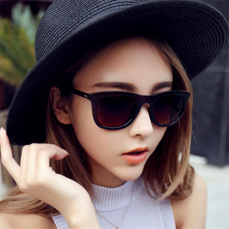 NEW Big box Metal Fashion Women Sunglasses Sunglasses Women Brand Designer AC UV400 Fashion Women s