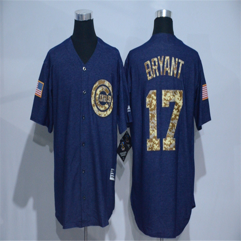 2016 new Cowboy Edition Men's 17 Kris Bryant Cub throwback Jersey baseball Jerseys(China (Mainland))