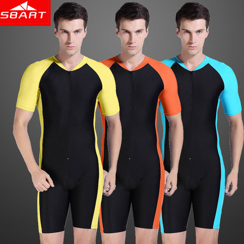 SBART New 2015 Wetsuit Men Short Sleeve Wet Suit Shorty Lycra Dive Skins Swimming Wetsuits Man Sucba Diving Clothes Big Sale N(China (Mainland))
