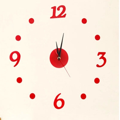 Fashion DIY wall clock quartz-analog clocks, creative round home - Shenzhen Spikewatch Plastic Factory store