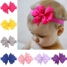 Buy 20PCS/LOT Mixed Girl Headband Hair Bow Grosgrain Ribbon Elastic Hair Bands Newborn New Born DIY Hair Accessories for $8.31 in AliExpress store