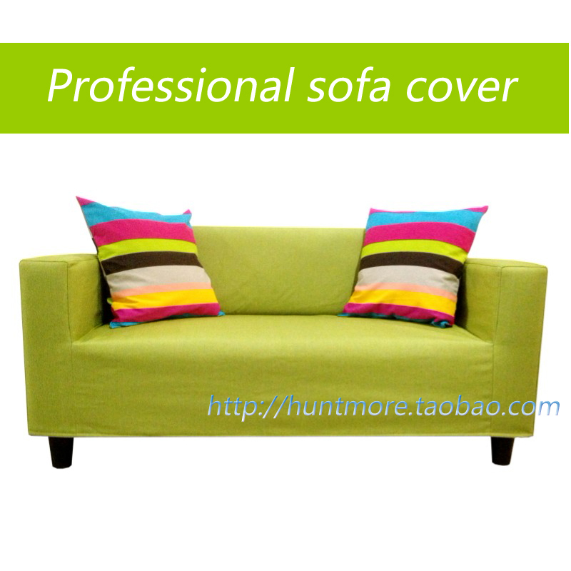 Buy Green Linen Sofa Cover Slipcover Of Ikea Klobo Double Set Of Sofa