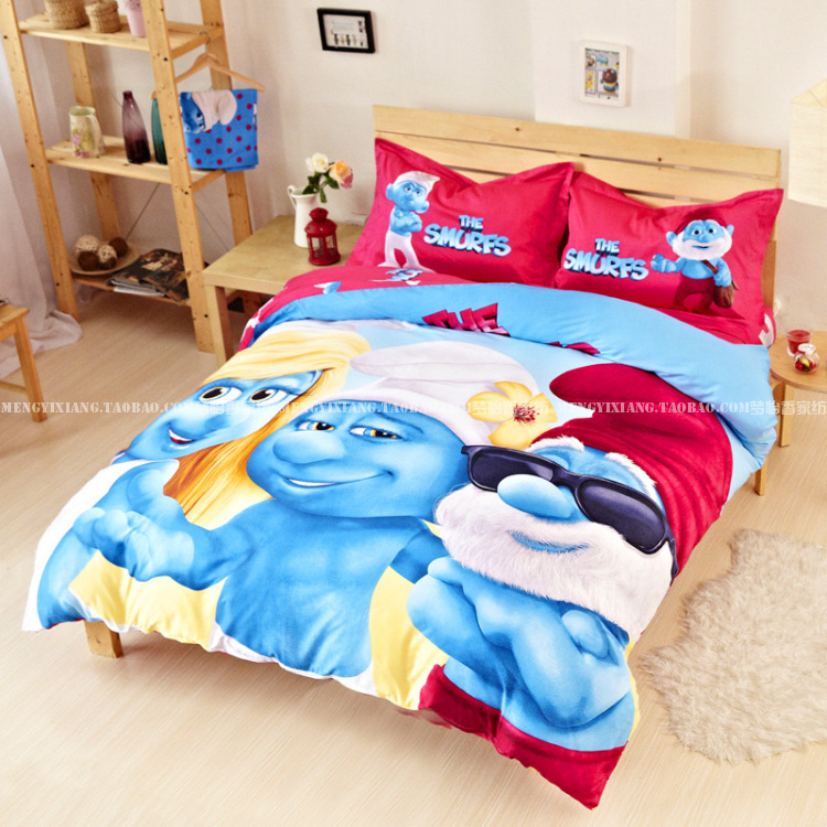 NEWKids Bedding Set Twin Full Queen King Size Blue Boys