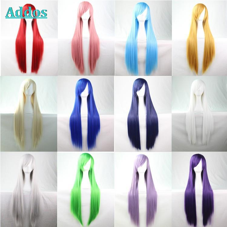 Top Quality And Discount Price Anime Cosplay font b Wig b font For Party Long Straight