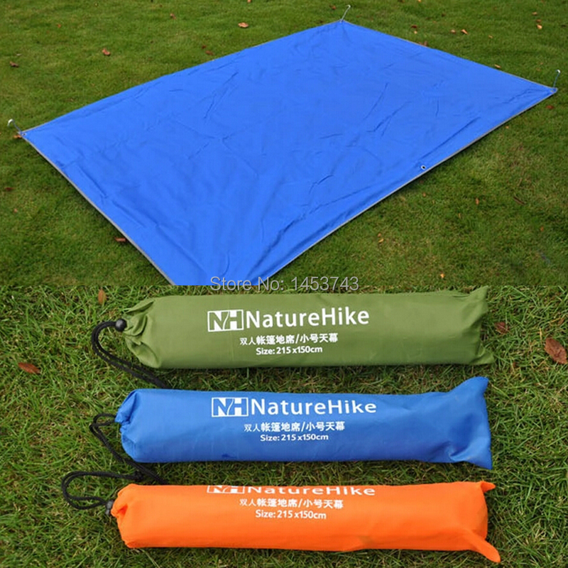 Free Shipping Blue Tent Tarp Waterproof Pu Coating Pu High Quality
