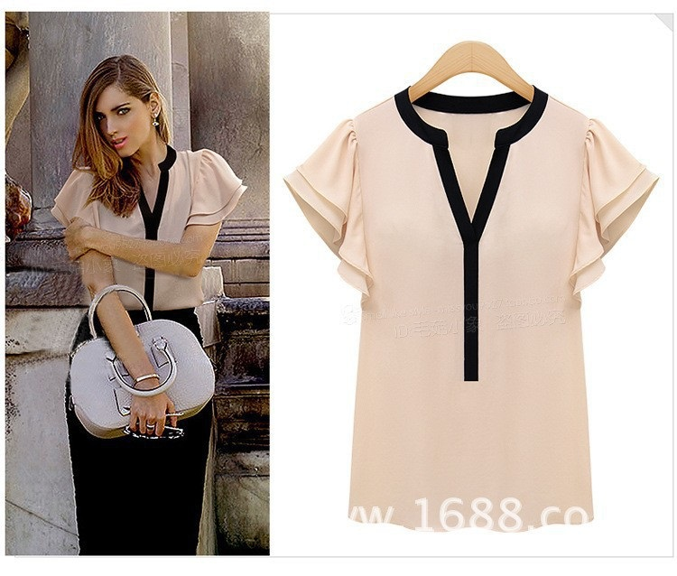 Женские блузки и Рубашки Domeef 2015 Blusas Femininas v Roupas F0134 женские блузки и рубашки summer blouse blusas femininas 2015 roupas s