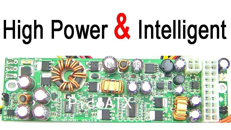 Free Shipping   Car PC DC Pico ATX PSU Power 200W   Input 8V-30V mini ITX M2 ITPS function(China (Mainland))
