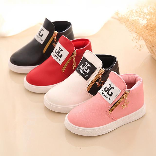 Взрыв моделей классической детской обуви для мальчиков и девочек весной и осенью мода низкий цилиндр сапоги одиночные ботинки