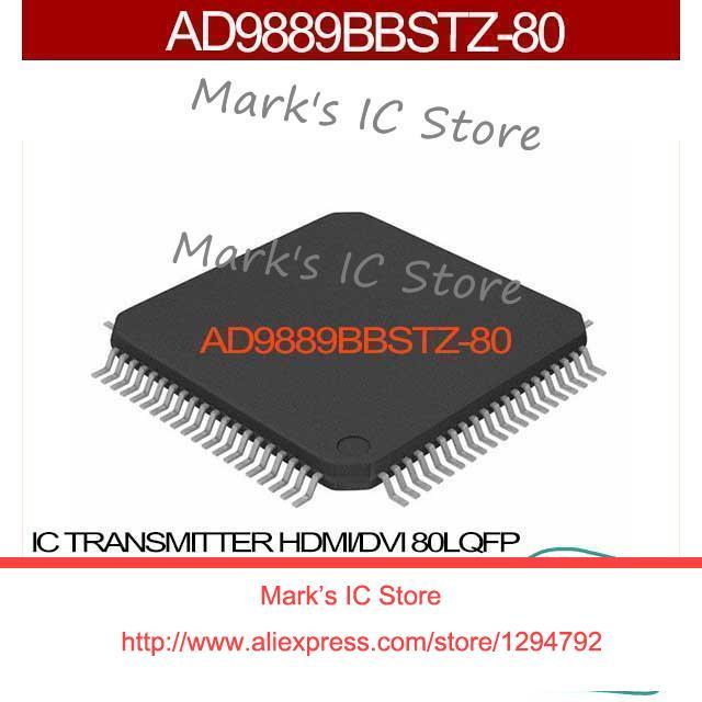 AD9889BBSTZ-80 IC TRANSMITTER HDMI/DVI 80LQFP AD9889BBSTZ-80 9889 AD9889BBSTZ AD9889 AD9889B AD9889BB(China (Mainland))