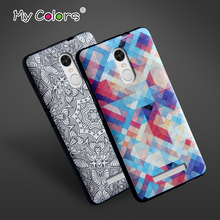 Buy High Soft TPU 3D Relief Print Back Cover Case xiaomi Redmi Note 3 / Note 3 Pro / Note 3 Pro Prime Phone Bag for $5.98 in AliExpress store