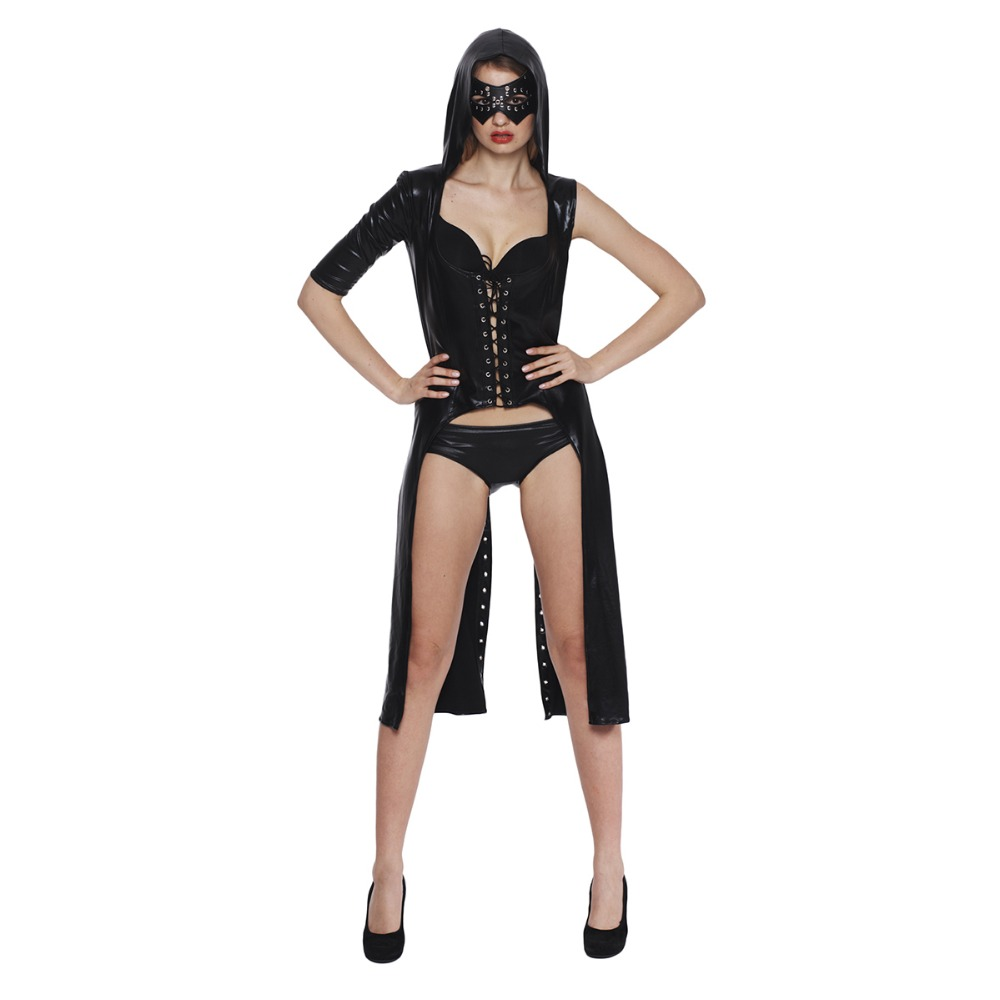 Sex toys cap cape performance clothing Nightclub DS clothing jazz suit Dance performance service Adult patent leather underwear(China (Mainland))