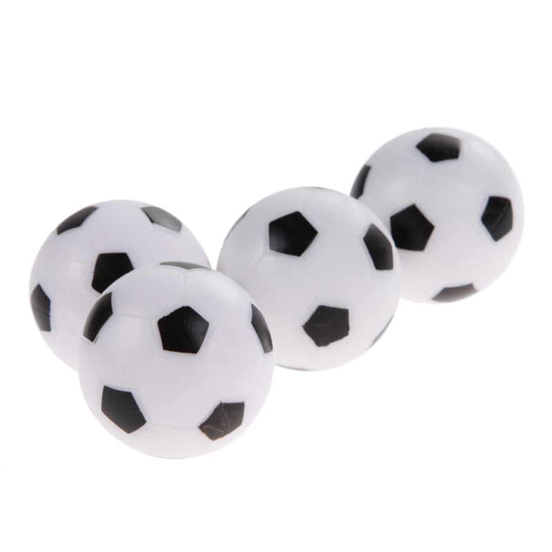 High Quality 4Pcs 36mm Soccer Table Foosball Replacement Ball Football Fussball Futbol Wholesale Price H1E1(China (Mainland))