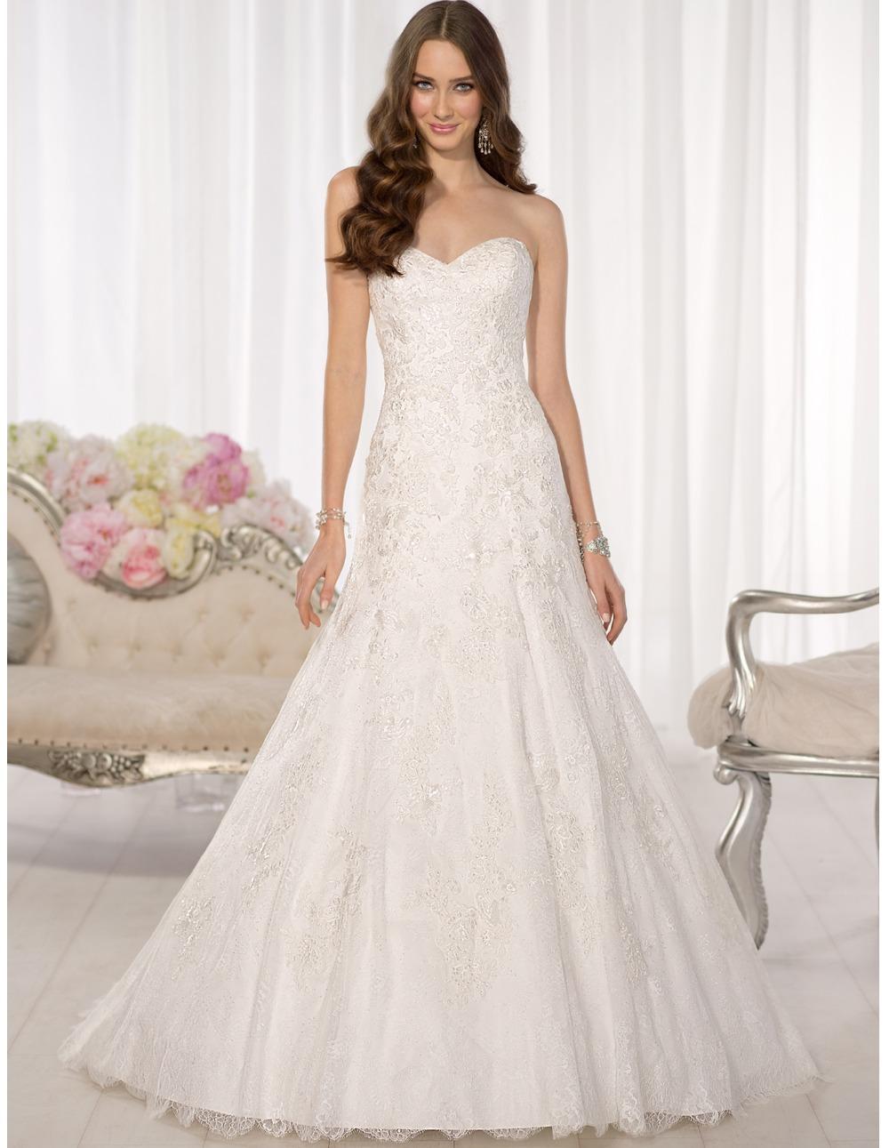 Vestido де novia элегантный 2016 плюс размер сексуальные спинки line свадебное платье кружева свадебное платье платье дженни пэкхэм UD-570