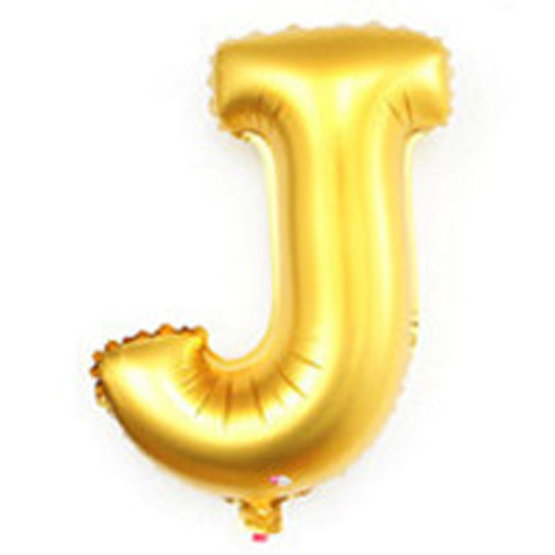 cheap childrens party decoration supplies big oversized large giant gold 40 inch alphabet balloons(China (Mainland))