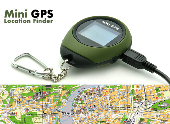 1.4 inch Small Mini Watch Handheld GPS Tracker For Outdoor Sport Travel Personal 512KB Location Finder Keychain(China (Mainland))