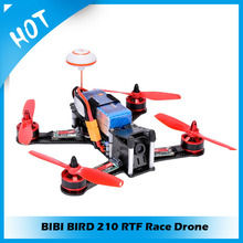 Makerfire DIY BIBI BIRD 210 RTF Race Drone kit RC drone Quadcopter kit QAV250 with HD Camera with out transmitter and receiver