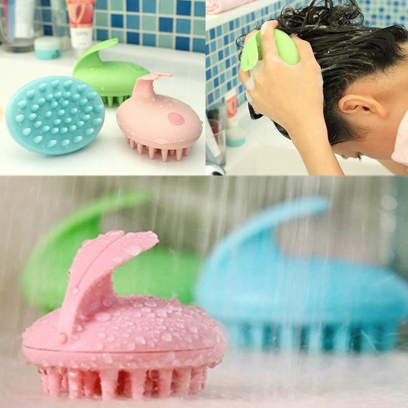 5pcs Electric Head Massager Magic Shampoo Massage Comb Bath Massage Brush Scalp Massager Head Hair Care Vibrating Brush(China (Mainland))