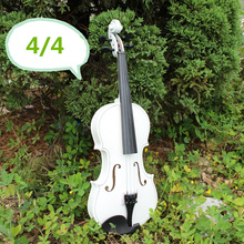 1/8 1/4 1/2 3/4 4/4 Antique Violin Make Violino Spruce Basswood White Wood Bow Stringed Instrument Musical More Colors(China (Mainland))