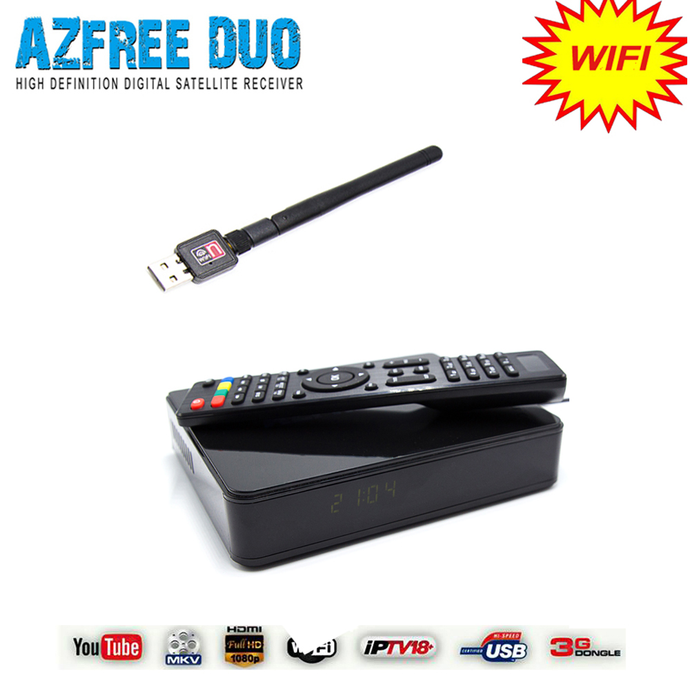 Stock azbox receiver azfree duo and tocomfree s929 plus work for South America(China (Mainland))