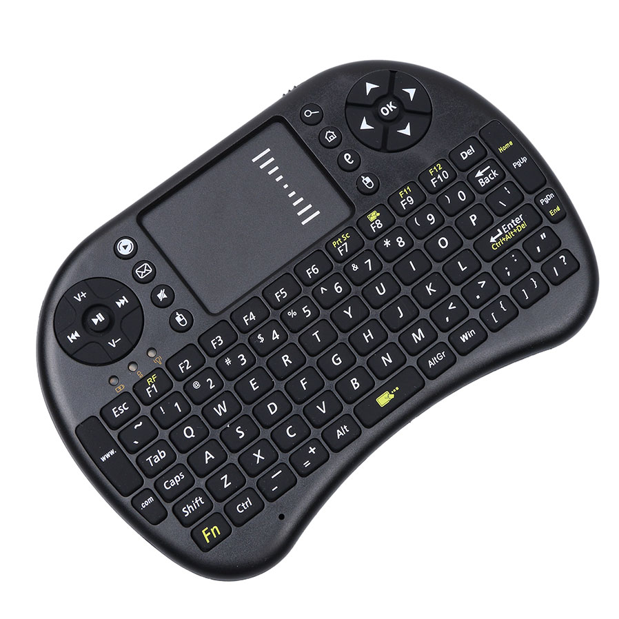 2016 New Mini Wireless Keyboard 2.4G i8 Wireless Mini Keyboard Touchpad Mouse Combo For Tv box tablet mini pc For ps3 For HTPC(China (Mainland))