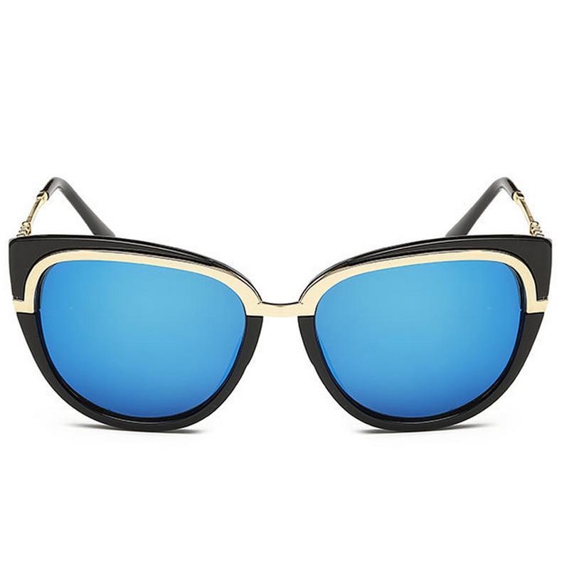 2016 New Retro Classic Sunglasses for Women Brand Designer Coating UV400 Oculos De Sol Feminino Sun Glasses(China (Mainland))