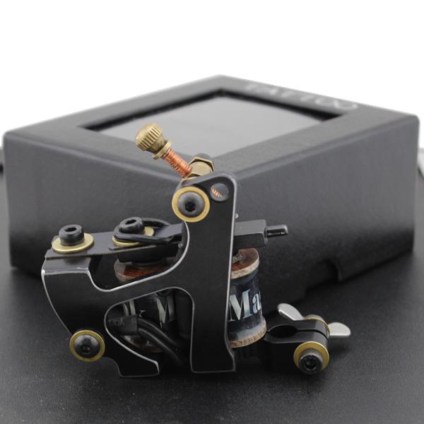 New Linear Cutting Cast Iron High Quality 10 Wrap Coils Tattoo Machine Gun Liner(China (Mainland))