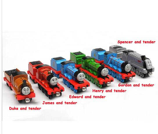 12pcs/lot Free shipping diecast metal thomas and friends train the tank engine toys for children kids Christmas gift(China (Mainland))