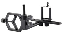 Metal Universal de montaje conector del adaptador para conexión de la cámara iPhone Samsung teléfono móvil y Monocular telescopio fotografía
