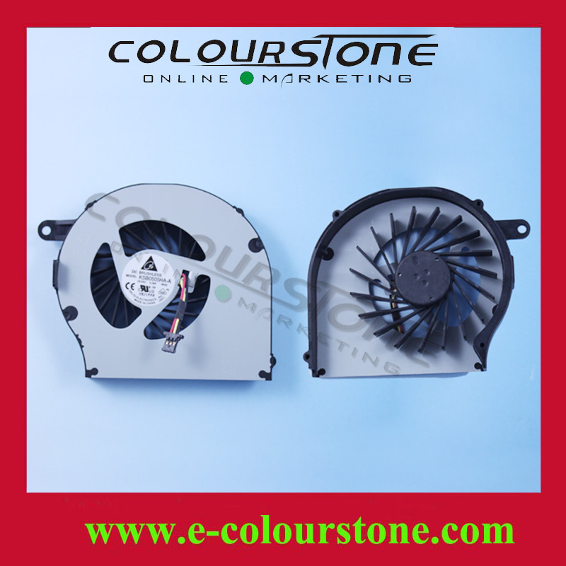 Brand New HP CQ72 G72 Laptop Fan CQ62 G62 KSB0505HA - Shenzhen Colour Stone Technology Co., Ltd. store