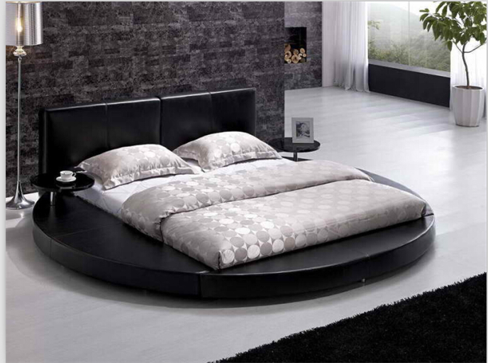 Round Beds Round King Size Beds Modern Bedroom Furniture With Genuine
