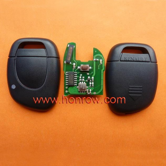 High quality and best price Renault Clio&Kango 1 button remote key with 433Mhz and ID46 Chip (before 2000 year car)