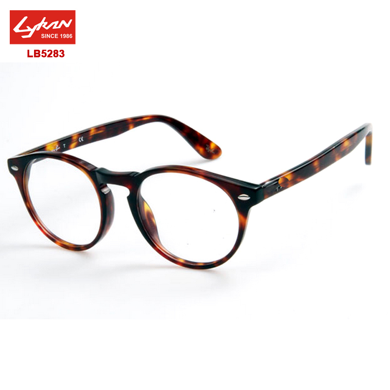 vintage round eyeglasses frames men women rb 5283 acetate frame original brand logo prescription glasses optical