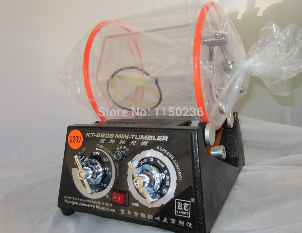 Mini Rotary polishing machine,Jewelry Rotary Tumbler, barrel Tumbler,gold silver diamond burnishing engraving cleaning motor(China (Mainland))